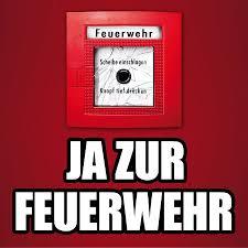Ja zur Feuerwehr!